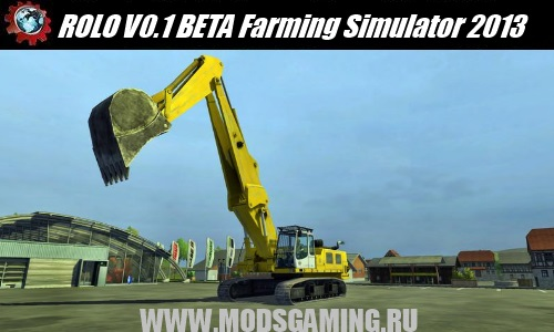 Farming Simulator 2013 mod download ROLO V0.1 BETA