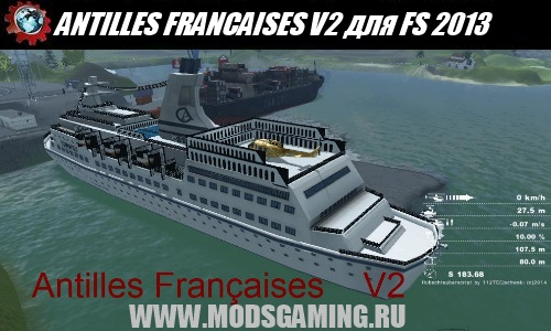 Farming Simulator 2013 mod download map ANTILLES FRANCAISES V2