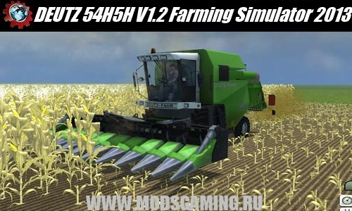 Farming Simulator 2013 mod download harvester DEUTZ 54H5H V1.2