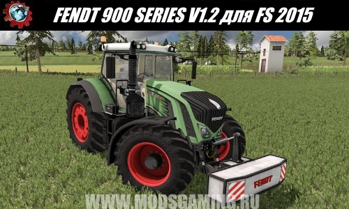Farming Simulator 2015 download mod tractor FENDT 900 SERIES V1.2