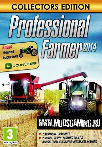 Professional Farmer 2014. Collector's Edition [v 1.0.14 + 1 DLC] (2013 / RUS / PC / Repack) Скачать бесплатно.