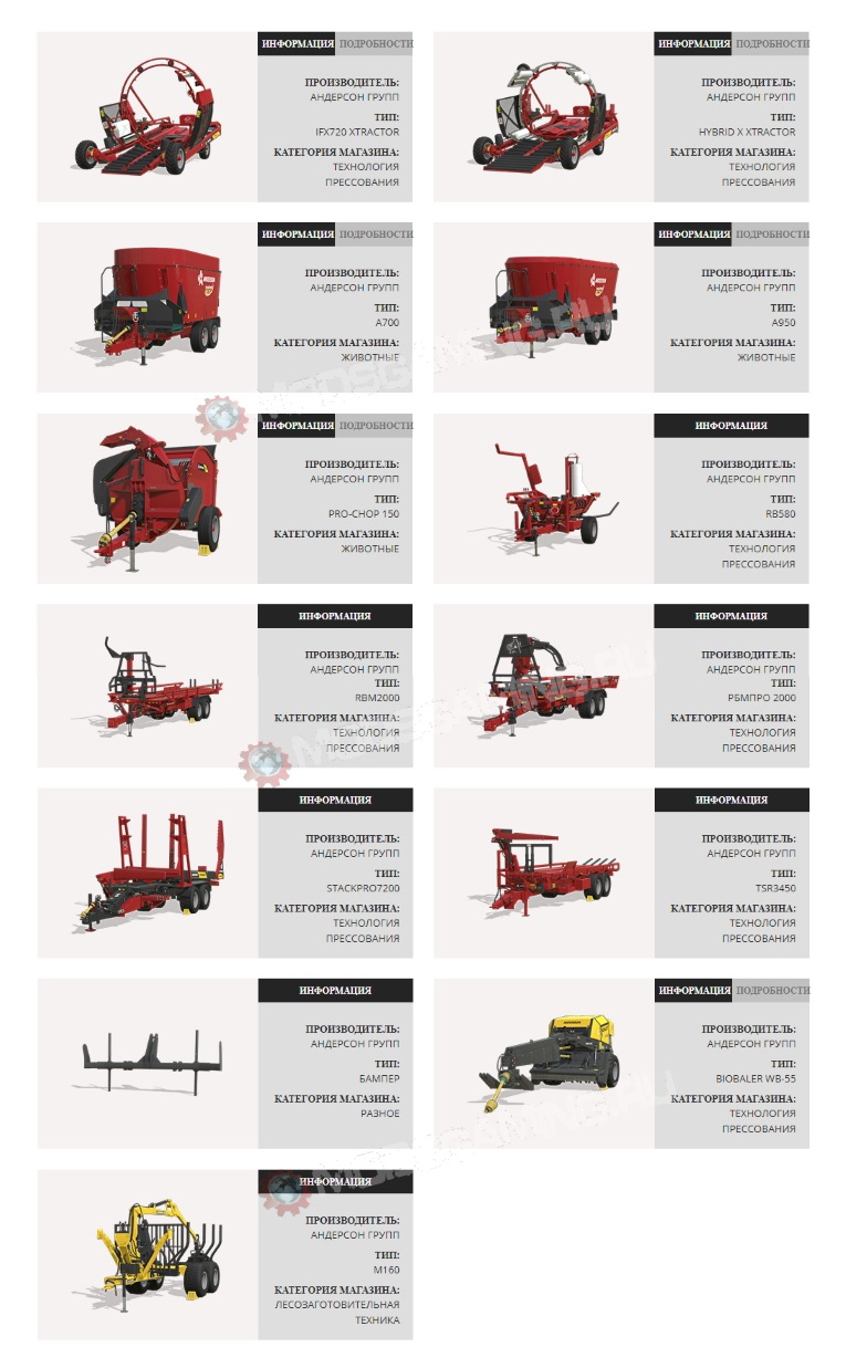 DLC Anderson Group Equipment Pack