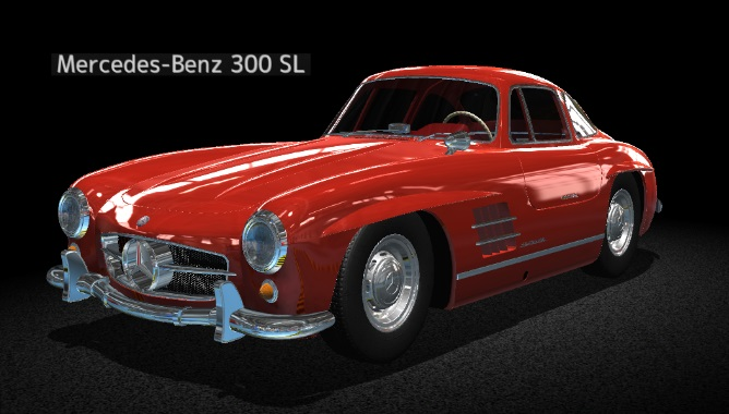Car Mechanic Simulator 15 Mercedes Benz 300 SL DLC