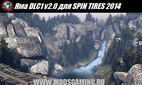 SPIN TIRES 2014 download mod map Pit DLC1 v2.0