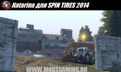 SPIN TIRES 2014 download mod map Katarina