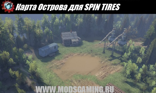 SPIN TIRES download mod Cartier Islands