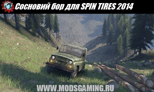 SPIN TIRES 2014 download mod map Pinery