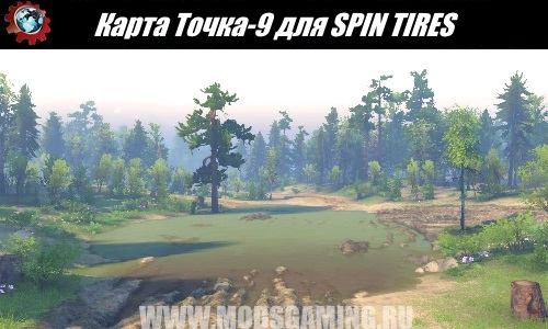 SPIN TIRES download map mod-9 point for 03/03/16