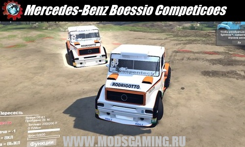 SPIN TIRES 2014 скачать мод машина Mercedes-Benz Boessio Competicoes