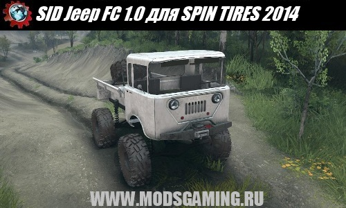 SPIN TIRES 2014 download mod SUV SID Jeep FC 1.0