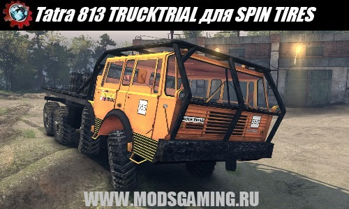 SPIN TIRES download mod truck Tatra 813 TRUCKTRIAL