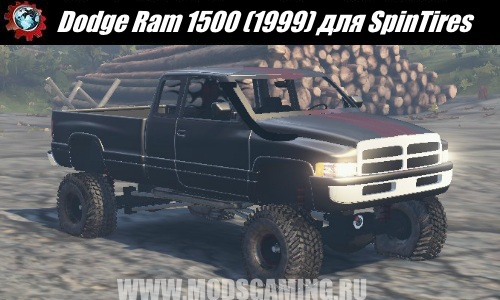 SpinTires download mod SUV Dodge Ram 1500 (1999)