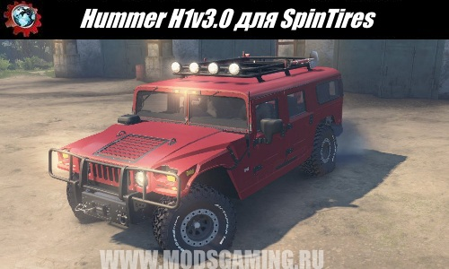 SpinTires download mod SUV Hummer H1 v3.0