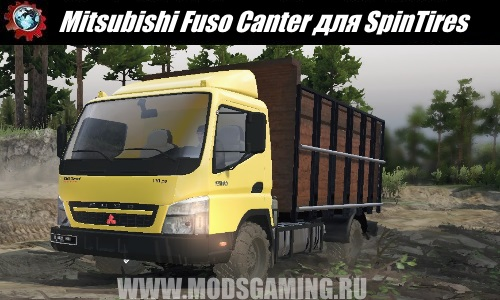 SpinTires download mod Truck Mitsubishi Fuso Canter