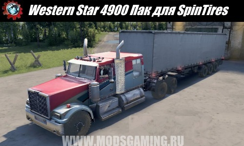 Spin Tires download mod Truck Western Star 4900 Pak