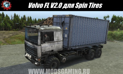 Spin Tires download mod Truck Volvo FL V2.0