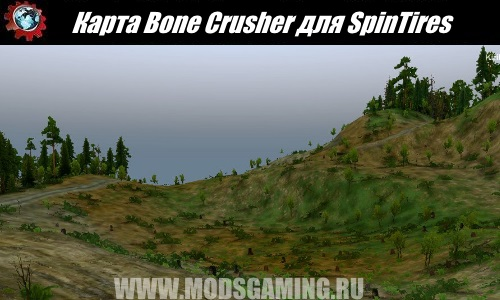 SpinTires download map mod Bone Crusher