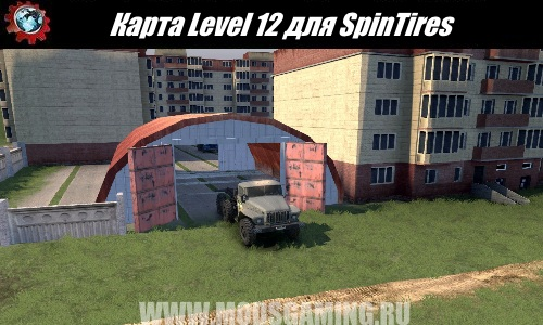 SpinTires download map mod Level 12