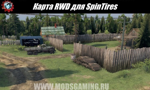 SpinTires download map mod RWD