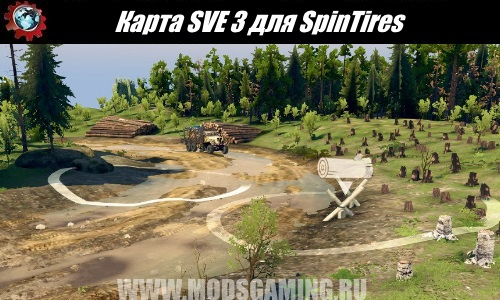 SpinTires download map mod SVE 3