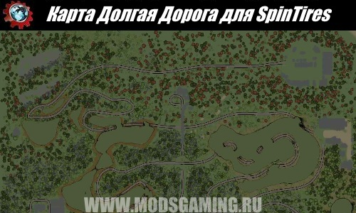 SpinTires download map mod Long Road