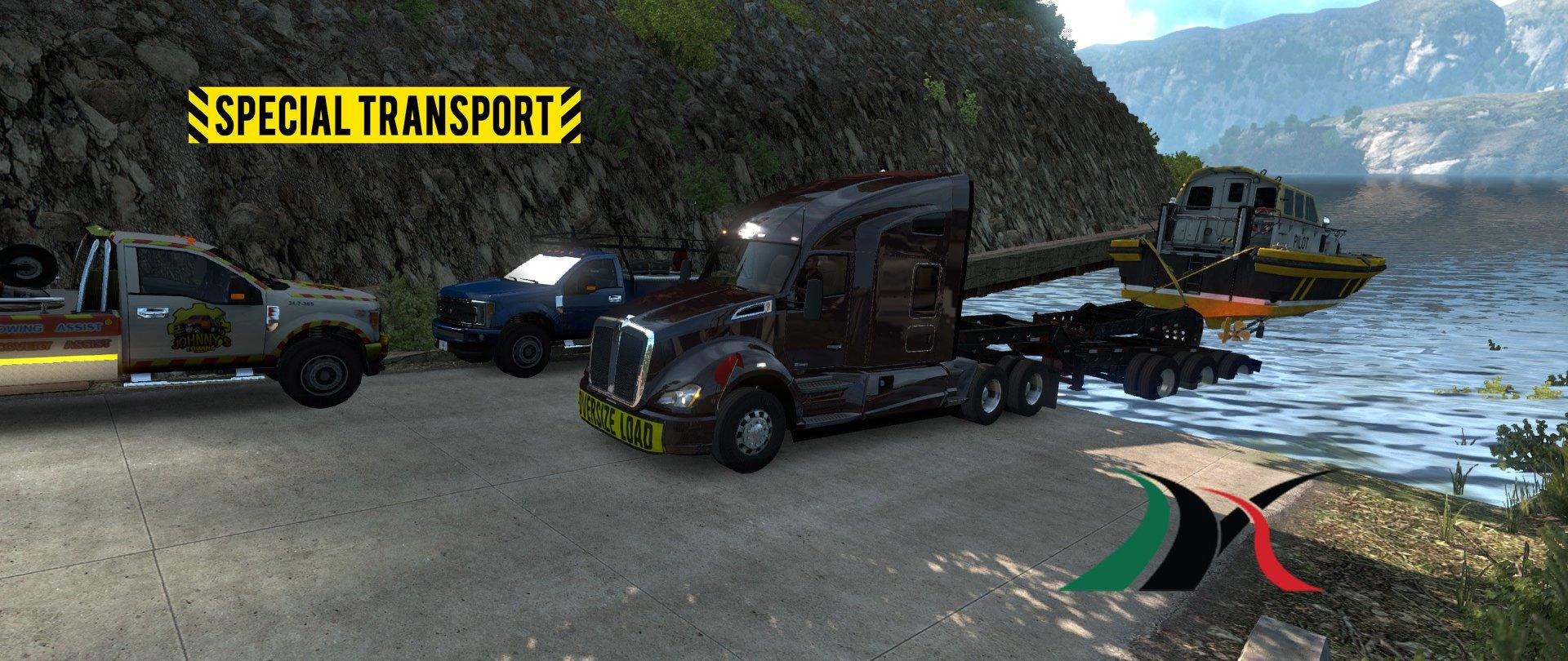 Мод Mexico Extremo V2.0.5 Upd 23.11.18 1.32.X Для American Truck Simulator