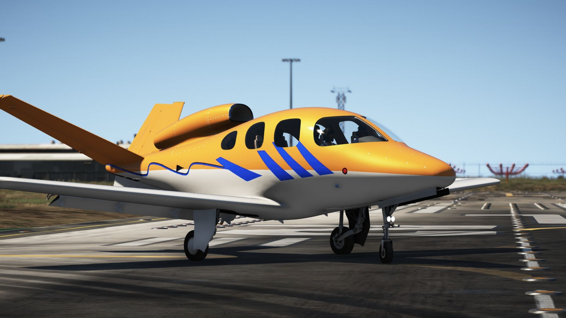 МОД Cirrus SF50 Vision [Add-On | Working emergency ...