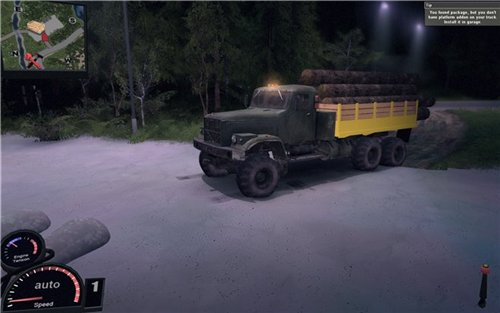 Мод Truck для Spin Tires Level Up 2011