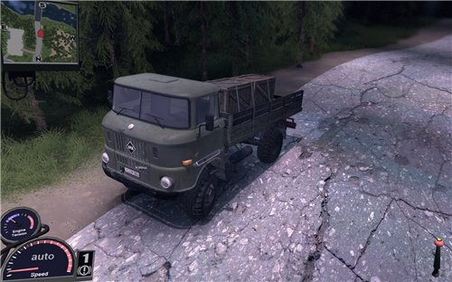 "Мод ""IFA W50LA"" для Spin Tires Level Up 2011"