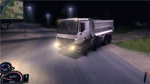 Мод MERCEDES BENZ ACTROS 3241 для Spin Tires Level Up 2011 Скачать