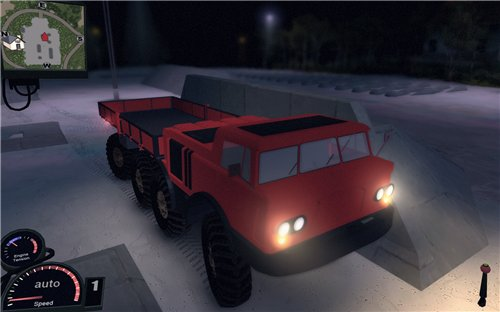 Мод ЗиЛ 135 для Spin Tires Level Up 2011 Скачать