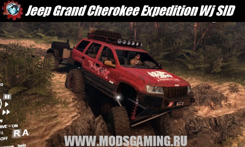 Spin Tires скачать мод машина Jeep Grand Cherokee Expedition Wj SID